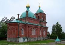 Воскресенский скит (красный). Церковь Воскресения Христова
