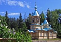 Гефсиманский скит (желтый скит). Церковь Успения Пресвятой Богородицы