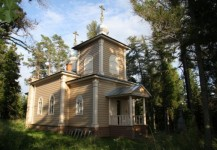 Скит Александра Свирского. Церковь Александра Свирского